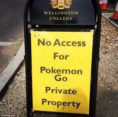 Pokemon Go Private Property
